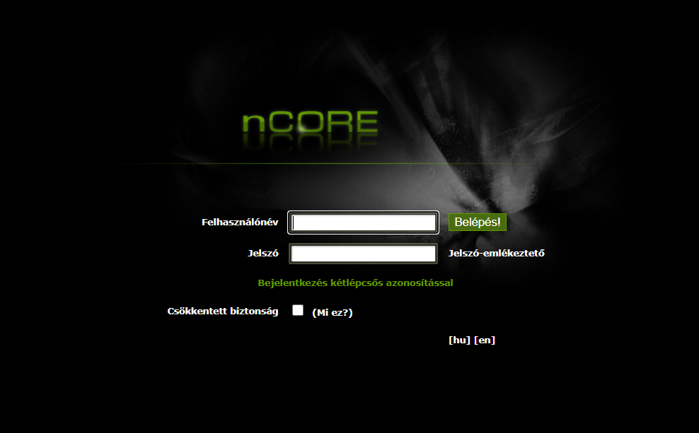 nCore website image