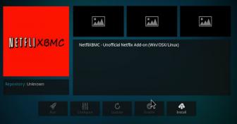 Útmutató a Netflix Kodi-ra történő installációjáho