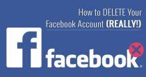 Hogyan TÖRÖLJÜK a Facebook fiókunkat (VALÓJÁBAN!) - 2017-es frissítés