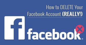 Hogyan TÖRÖLJÜK a Facebook fiókunkat (VALÓJÁBAN!)