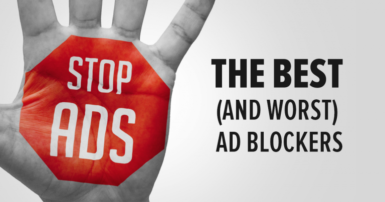 The Best and Worst Ad Blockers