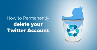 Hogyan törölje tartósan Twitter fiókját 7 egyszerű