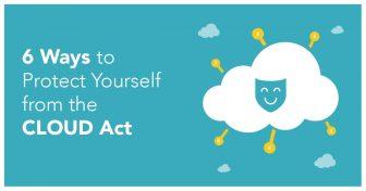 6 módja, hogy megvédelmezhesse magát a CLOUD Törvénytől