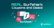 2021-es Surfshark kupon: 85%-os exkluzív kedvezmény!
